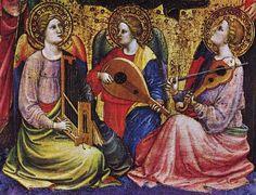Mariotto di Nardo (XIVème-XVème siècle) - Anges musiciens