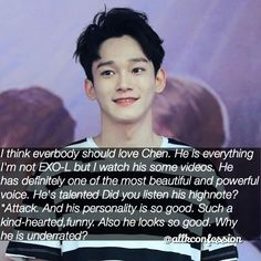 SUBMITTED CONFESSION    [ #Chen Confession ]  AGREE or DISAGREE? Like if you agree comment if you disagree!   CONFESSIONS AREN'T OURS  send your confession by dm or ask.fm  the confessor won't be revealed to anyone  all types of confessions are allowed  tag your friends and follow for more confessions  admin Sophie   [ t a g s ] #kpop #kpopconfessions #kpopidol #koreanpop #bts #exo #bigbang #shinee #nct #got7 #seventeen #monstax #wannaone #bap #nuest #ikon #snsd #girlsgeneration #fx…