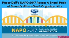 Paper Doll's NAPO 2017 Recap: A Sneak Peak at Smead's All-in-One® Organizer Kits | Best Results Organizing
