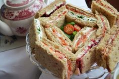 tea party food would be such a pain to get ready at the right time. Unless it was just all breads.