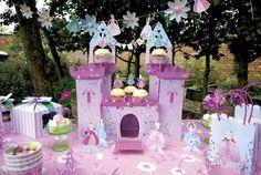 Gateau anniversaire déco Princesse