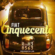 I love seeing these little cars in Italy! #fiat #fiat500 #cinquecento #roma #rome #vintage #antique #classiccar #car #icon #symbol #macchina #auto #italian @fiat500fanclub #italy #italia