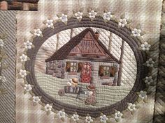 """❤ =^..^= ❤ """"Bless My Sweet Home"""" by Tomoko Endo Sew Fun 2 Quilt: The Handmade Category"""