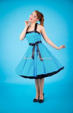 Atelier Belle Couture | Petticoat Tanzkleid der 50er Jahre