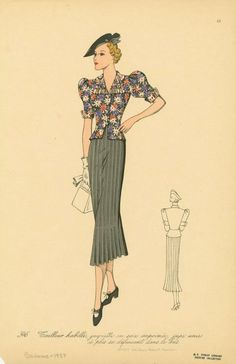 fashion illustration vintage - Buscar con Google