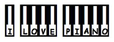 I know the piano illustration is off, but the free fonts here are pretty cool