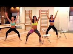 Barre Fitness | Thigh + Butt Workout | Lower Body Shaping - YouTube