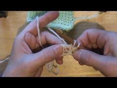 Sploty tunezyjskie -oczko prawe. (Tunisian knit stitch) Tks