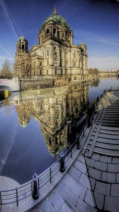 Get up close with the Berlin Cathedral in Berlin, Germany.