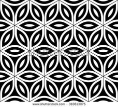 Simple and stylish patterns card vector Free Vector / Card Patterns, Flower Patterns, Geometric Patterns, Pattern Design Drawing, Monochrome Fashion, Textile Prints, Textile Design, Flower Of Life, Sacred Geometry
