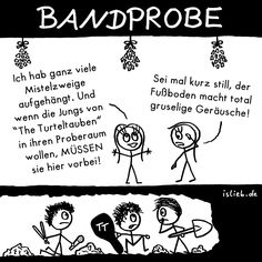 Bandprobe | #islieb