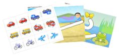 Printables for Injini: Child Development Game Suite