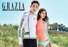 Lee Soo Hyuk and Soo Hyun (Claudia Kim) might be the sexiest sporty couple you've ever seen | allkpop