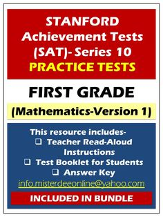 Click here to view SAT-10 practice tests for KG-2. If you find this pin during the sale, like today, you will be able to save up to 20% on your purchases. http://misterdeeonline.blogspot.qa/