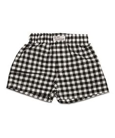 Look what I found on #zulily! Gingham Style Shorts - Infant #zulilyfinds