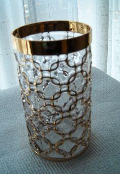 Filigree Water Glass