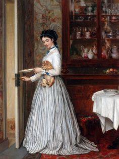 Anton Ebert (1845-1896) - немецкий художник