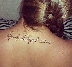 Nunca Foi Sorte Sempre Foi Deus Tattoo Pinterest Tattoos E