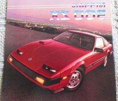 1985 Nissan 300-zx 300zx 20-page Original Sales Brochure Catalog - Turbo