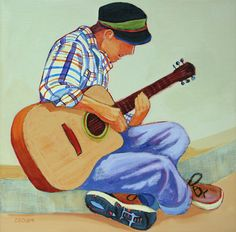 Sing You a Song - painting by Carolee Clark