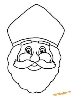 VÁNOČNÍ OMALOVÁNKY PŘEDLOHY ŠABLONY ... čekáme na Ježíška | Mimibazar.cz Projects For Kids, Diy For Kids, Art Projects, Crafts For Kids, Tiffany Kunst, St Nicholas Day, Santa Pictures, Christmas Activities, Coloring Pages