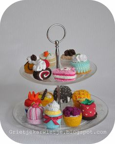 34 Beste Afbeeldingen Van Gebakjes Haken Crochet Food Amigurumi