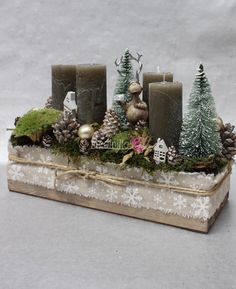 Adventi koszorú-2002 Christmas Design, Winter Christmas, Christmas Wreaths, Christmas Gifts, Christmas Arrangements, Xmas Decorations, Classroom Decor, Diy And Crafts, Holiday Decor