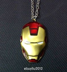 I would SO wear this.  With my Iron Man shirt.  Well . . . ok, all of my Iron Man shirts.  Because I have more than one.
