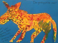 De gestippelde ezel #ericCarle uit #hetblauwepaard Eric Carle, Stage, Movie Posters, Movies, Art, Kunst, Art Background, Films, Film Poster