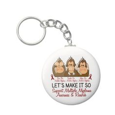 Buy a metal, acrylic, or wrist style keychain, or get different shapes like round or rectangle! Multiple Myeloma, Kidney Cancer, Bone Marrow, Cancer Awareness, Let It Be, March, Blog, Blogging, Mac