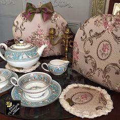 Tea Cozy GREGES ROSE by Decor CLASSIQUE