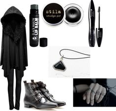 Mort by theeverydaygoth #polyvore #goth #gothic