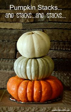 Pumpkin Stacks…and s