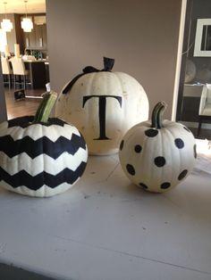 White pumpkin fun