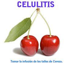 infusion de rabos de cereza para la celulitis y bajar de peso