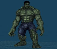 Incredible Hulk Paper Model With Two Meters Tall - by Paper Juke - == -  French designer Paper Juke surprises again with the Incredible Hulk paper model, with two meters tall and occupying 383 sheets of paper.