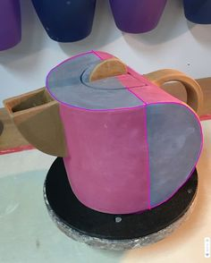 PVC Half Pipe Slump and Hump Mold for Handbuilding With Clay