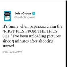 John Green is awesome! I loved this book!!