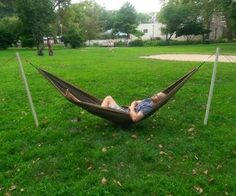 Medium image of free standing portable hammock stand