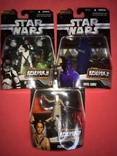 STAR WARS ROTS GREATEST BATTLES COLLECTION LOT OF 3 By HASBRO (2006)