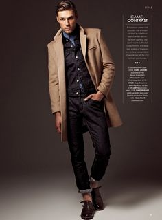 Mikus Lasmanis by A.P. Kim for Essential Homme - Fall / Winter - 2013-2014