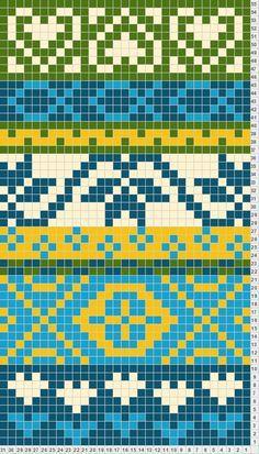 mooie kleur combinatie voor mochila tas Banded inspiration for California fair isle design Tapestry Crochet Patterns, Fair Isle Knitting Patterns, Knitting Charts, Loom Patterns, Knitting Designs, Knitting Stitches, Knitting Projects, Motif Fair Isle, Fair Isle Chart