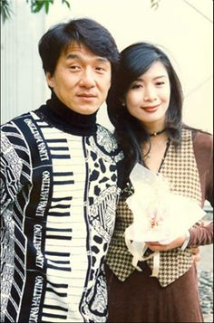 """""""Does this sweater look sharp or flat to you?"""" - Jackie Chan"""
