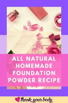 Here is another beauty product to add to your makeup bag. Thank Your Body has a DIY homemade foundation recipe to replace any chemical and mineral-based foundation that you have relied upon until now. While mineral foundations became the go-to for a natural alternative even they contain one or two ingredients that can be skin irritants. Now you can avoid any issues with this easy-to-follow foundation recipe. Download our report here… #diyfoundation #diymakeup #naturalmakeup Homemade Foundation, Diy Foundation, Mineral Foundation, Powder Foundation, Are You Happy, Just For You, Natural Cough Remedies, Learn To Meditate
