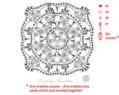 Granny Squares i Motywy: Wzór 5Granny Squares and Motifs: Pattern 5