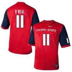 Fresno State Bulldogs Dejonte ONeal Football Jersey Listing in the  College-NCAA 93e815d23