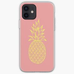 « Ananas Doré Jaune » par LenysEcoHome | Redbubble Gold Pineapple, Coque Iphone, Golden Color, Pattern Making, Les Oeuvres, Line Art, Illustration Art, Phone Cases, Digital