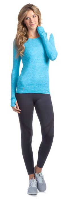 Great fashionable workout clothes at ellie.com