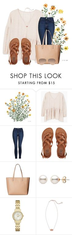 """""""QOTD: Dogs or cats?"""" by annaewakefield ❤ liked on Polyvore featuring MANGO, Topshop, Billabong, Kate Spade, Kendra Scott and Ray-Ban"""