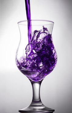 Purple Punch Recipe ~ cranberry juice, frozen grape juice, pineapple juice, sugar, water, Sprite | PicsVisit